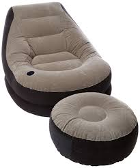 blow up furniture. Blow Up Chair W Footrest Inflatable Ottoman Recliner Couch Bed Sofa Mattress 798334189866 | EBay Furniture L