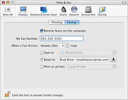 How To Fax From Mac Working With Mac Os Xs Built In Fax Capability Chapter