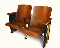 Antique Theater Seats Bck Set Nyone Theatre For Sale