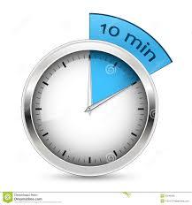 10 Minuite Timer 10 Minutes Timer Illustration Stock Vector Illustration