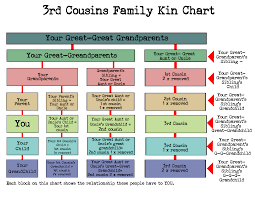 Cousin Relationship Chart What Cousin Are They How To Understand Family