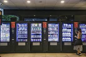 Is There A Code For Vending Machines Interesting SPH Buzz Store Has First QR Code Vending Machines Here Singapore