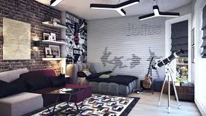 red brick wall decorating ideas wallpaper bedroom ideas homes effect design white walls rustic red brick wallpaper