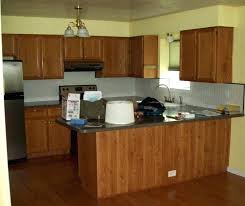 kitchen cabinet color schemes creamy white cabinets brown and best gray paint for black photos cabin