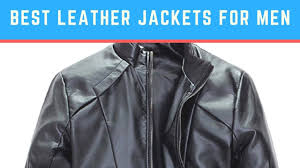 10 best leather jacket for men review 2017