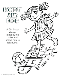 Girl Scout Cookies Coloring Pages Brownie Quest Coloring Pages