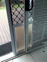 screen door with pet door built in medium size of patio pet door pet door guys