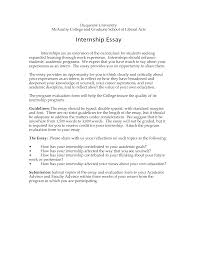 internship application essay how to write an essay for an internship synonym