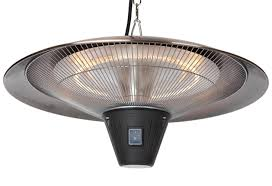 hanging patio heater. Fire Sense Gunnison Hanging Halogen Patio Heater - Brushed Copper (#62222)