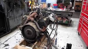 1997 International T444E Diesel Engine Running - YouTube