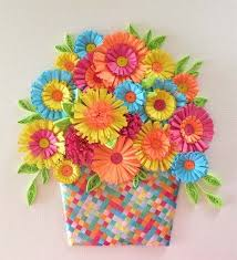 Paper Quilling Flower Baskets Pin By Brooke Gonzalez On Just My Style Quilling Flowers Quilling