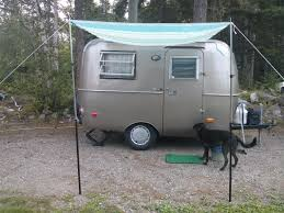 diy inexpensive pop up camper awning ideas