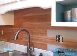 vinyl plank flooring on walls awesome remodelaholic diy backsplash using l and stick home ideas 12