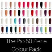 50 Piece Gel Nail Polish Collection Shellac Nails Direct