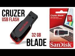 Обзор и тест <b>USB флешки SanDisk</b> Cruzer Blade 32 GB - YouTube