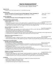 sample resume of student sample resume for a student no  sample