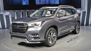 2018 subaru ascent suv. plain subaru alesa subaru ascent threerow suv set for 2018 launch alesacorp for subaru ascent suv 4