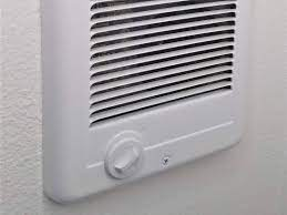 repair a wall mounted electric heater