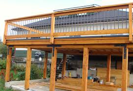 deck over car port google search home improvements