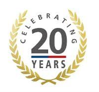 Image result for 20 years logo
