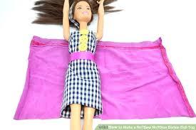 image titled make a no sew no glue barbie doll top step 8