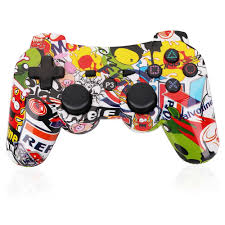 Amazon.com: PS3 Controller Wireless Dualshock3 Joystick - OUBANG Upgrade  Version Patent Remote Best Christmas Gift Bluetooth Gaming Sixaxis Control  Gamepad ...