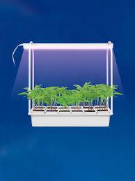 <b>Светильник</b> для растений, 10W, с подставкой, 12 кашпо, спектр ...