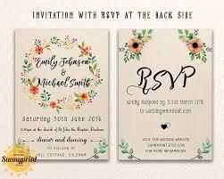 Wedding Invitation Creator Free Printable Wedding Invitation