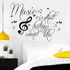 Wandtattoo Spruch Music Was My First Love Wandaufkleber Wanddeko