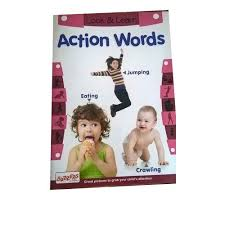 Action Words Chart With Pictures Action Word Chart