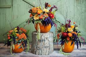 ... utah wedding florist calie rose pumpkin centerpiece pumpkin  thanksgiving centerpieces kristina curtis photography