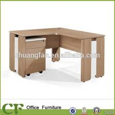 image office furniture corner desk. cf hot sale table office furniture corner computer desk with movable pedestal image y