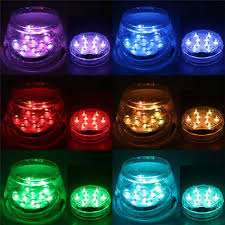 Efx Led Lights Amazon 8x Remote Control Color Colored Led Light Boundery Style Waterproof Efx Accent