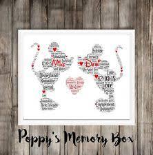 personalised disney mickey minnie wedding enement word art gift