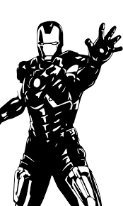 The great collection of iron man phone wallpaper for desktop, laptop and mobiles. Logo Iron Man Wallpaper Black And White