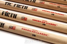Vic Firth American Classic 4 For 3 Drumstick Value Pack 5b