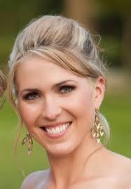 the bride smiling bride
