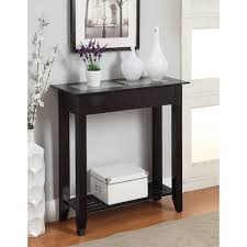 hallway table designs. Mudroom:Awesome 2 Tier Large Black Hallway Table Made Of Sturdy And Durable Material Practical Designs