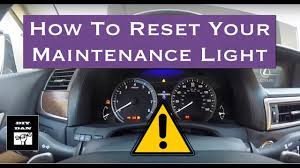 2008 Lexus Rx 350 Maintenance Light How To Reset The Maintenance Light On A 2013 2015 Lexus Gs
