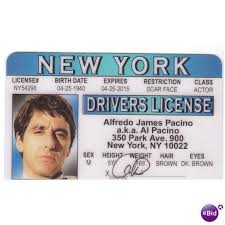 Ireland Of Realistic Al Actor Scareface Drivers Pacino License Ebid On 64093664
