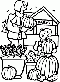 Pumpkin Patch Coloring Page Coloring Home