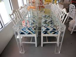 vintage lucite dining table lucite dining table n96