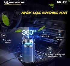 Máy lọc không khí và khử mùi otô cao cấp Michelin ML-19 - Tốc độ 247