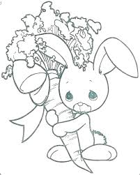 Coloring Bunny Coloring Pages Rabbit Rabbit Face Coloring Page