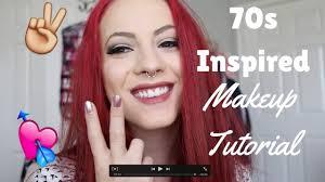 70s inspired makeup look 70 s makeup tutorial