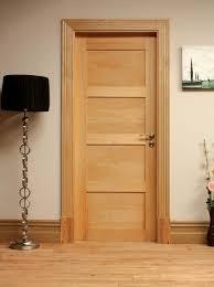 glass room setting for coventry 4 panel shaker style oak internal wood door