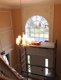 foyer paint colorsA Warm Welcome In Blue Bell With New Foyer Painting  LaffCo