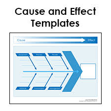 Cause And Effect Diagram Templates Pdf Format