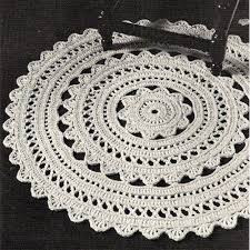 Free Crochet Rug Patterns Best New Free Crochet Rug Patterns Crocheted Doily Rug Pdf Pattern 48 In