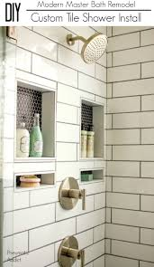 modern shower remodel. Delighful Shower Learn How To Overcome The Daunting Task Of Building Waterproofing And  Installing A Custom Tile Shower On Modern Shower Remodel
